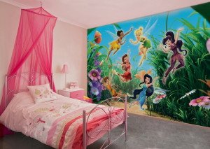 На фото - фотообои в детскую комнату, strport.ru