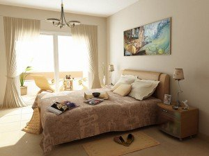 На фото - идеи для дизайна маленькой спальни, homeartblog.com