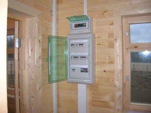 Фото распределительных щитов электропроводки в загородном доме, elbs.ru