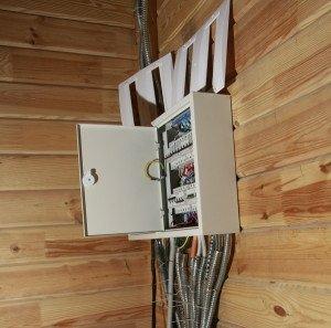 Фото кабелей для электропроводки в деревянном доме, saw-wood.ru