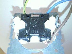 Фото трехпроводного кабеля групповой сети в гараже, elektroda.pl