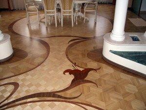 На фото - красивый паркетный пол, stroy72.com