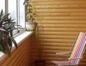 Фото - Отделка балкона блок-хаусом – создаем новое место для релаксации