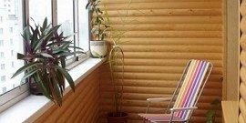 Отделка балкона блок-хаусом – создаем новое место для релаксации