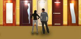На фото - как правильно выбрать межкомнатные двери