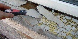 Ремонт подоконников – инструкция к применению в бытовых условиях