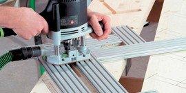 Приспособления для ручного фрезера – как «обучить» свой станок?