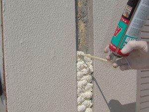 Фото применения полиуретановой клей-пены, kosezade.net