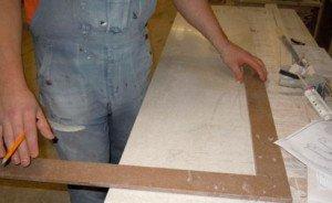 Фото изготовления подоконников из искусственного камня, flinstone.ru