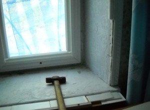 Фото старого бетонного подоконника, stranamam.ru