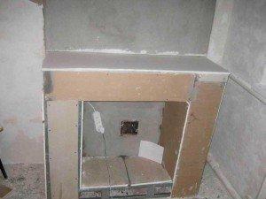 Внутренняя часть каркаса,  фото