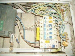 На фото - электропроводка в квартире, minsk1.net