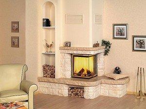 Электроимитация огня – безопасно, удобно и красиво