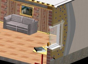 На фото - виды теплоизоляционных материалов, buildingwork.net