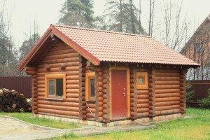 Фото бани из сруба wood-h.ru