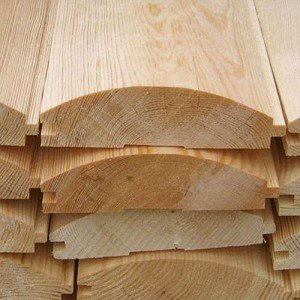 На фото - система шип-паз деревянного блок-хауса для бани, evagonka.ru