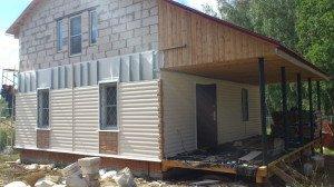 Фото монтажа блок-хауса, строй-аст.рф
