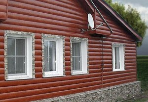 Фото винилового блок-хауса, sidingspb.ru