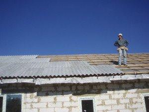 Фото шифера на крыше дома, realizedadream.ru