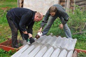 Фото резки шифера, photo-revue.ru