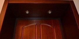 Дверные откосы – разнообразие вариантов