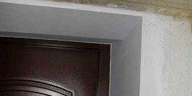 Как заштукатурить откосы дверей – основные этапы работ