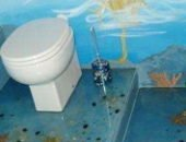Фото - Наливной пол в ванной – изысканность или необходимость?