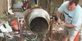 Как пользоваться бетономешалкой – основные нюансы работы
