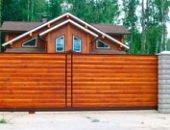 Фото - Забор из блок-хауса – предлагаем новинки для дачи