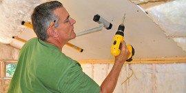 Звукоизоляция потолка в квартире – до ремонта и после!