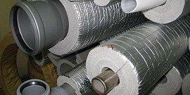Звукоизоляция труб канализации и водопровода – убираем лишние звуки