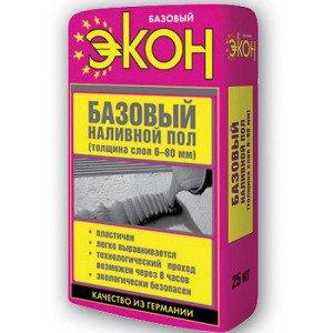 На фото - смесь для базового наливного пола, 7770003.ru