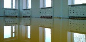 На фото - метилметакрелатные наливные полы, uniwerk.ru