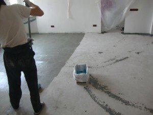 Моснова для наливной пол своими руками расход шпатлевки на оштукатуренных стенах
