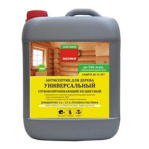 Фото антисептика для деревянного блок-хауса, neomid.ru