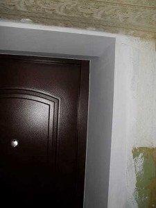 На фото - качественно сделанные откосы двери, masstter.com