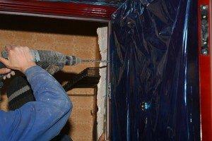 Фото защитной пленки на входной двери, moscowsad.ru