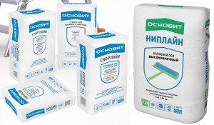 Фото наливного пола в упаковках, pol-comfort.ru