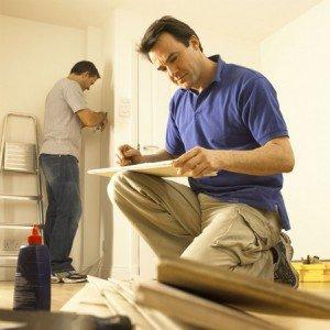 На фото - начало ремонта в квартире, eurofitdirect.co.uk