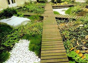 Фото садового декинга, sadomaniya.ru