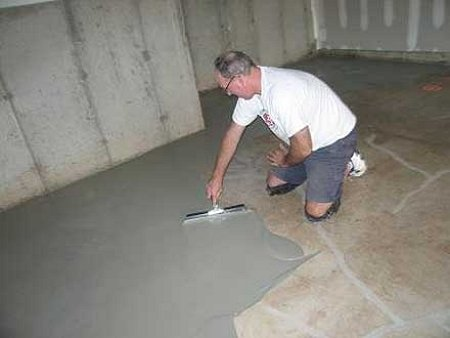 Пол своими руками для гаража