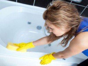 Фото про то, как убрать скол на ванне, snosn.com