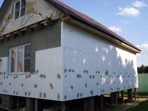Фото утепления дома, north-facades.ru