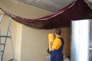 На фото - звукоизоляция натяжного потолка, campingmanitoulin.com