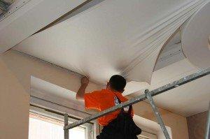 Фото обустройства натяжного потолка, fsell.biz