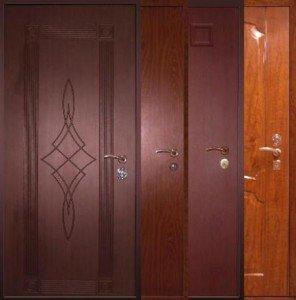 На фото - металлические входные двери, smk24.ru