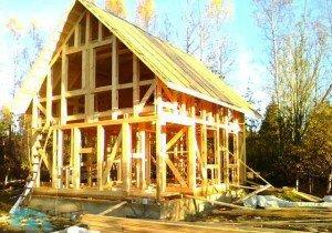 Строительство бани с мансардой – начинаем с планирования