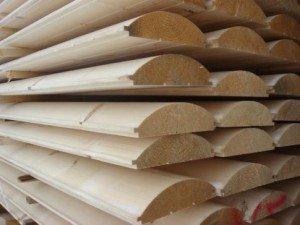 Фото сушки деревянного блок-хауса, rmnt.net