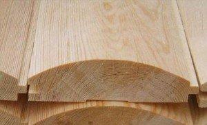 Фото блок-хауса из хвойной древесины, leselit.ru