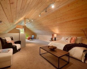 Обустройство мансарды в деревянном доме – считаем нагрузку! фото